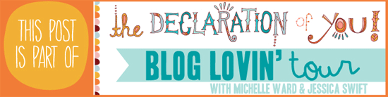Part of the Declaration of You Blog Tour