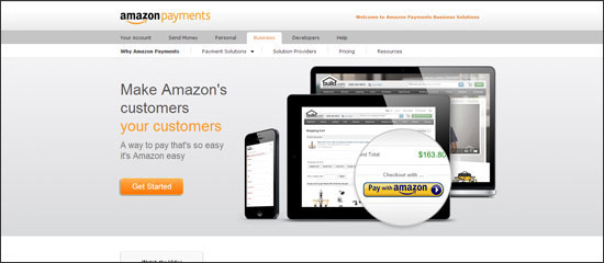 Amazon Payments as a PayPal Alternative